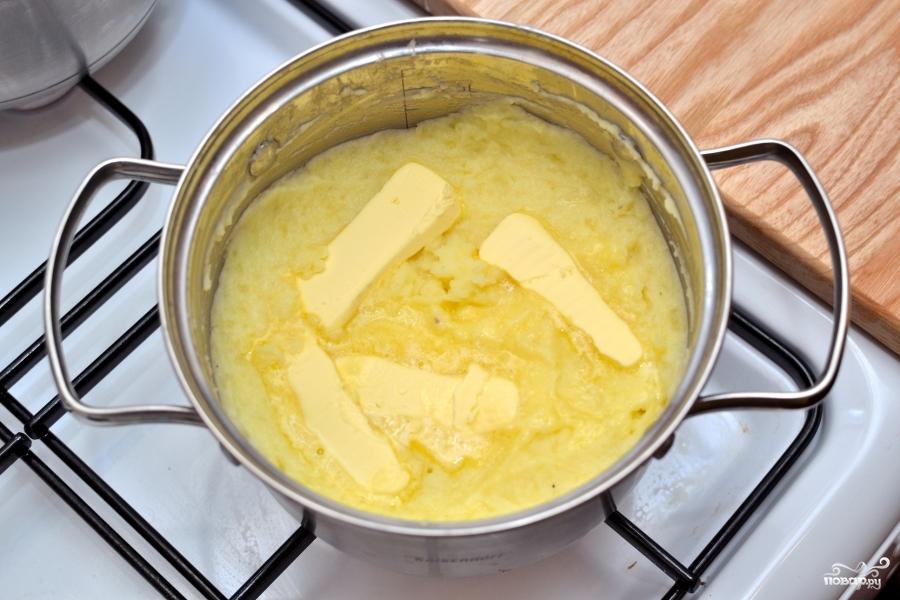 Как сделать пюре из картошки с маслом