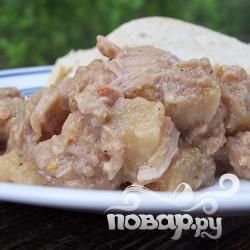Рецепт Африканская тушеная курица