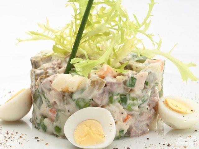 Салат с свежими огурцами рецепт с фото