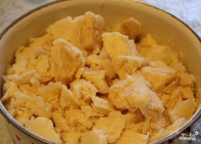 Домашний сыр из ряженки - фото шаг 2