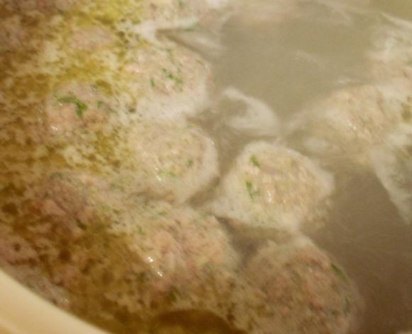 Суп с грибами и фасолью   - фото шаг 8