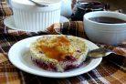 Творожно-маковая запеканка к завтраку