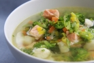 Суп из белой рыбы