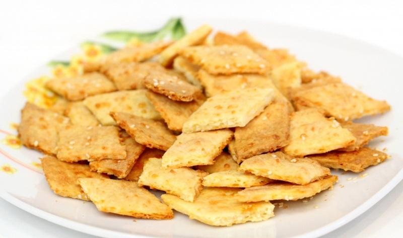 Крекеры с сыром - фото шаг 7