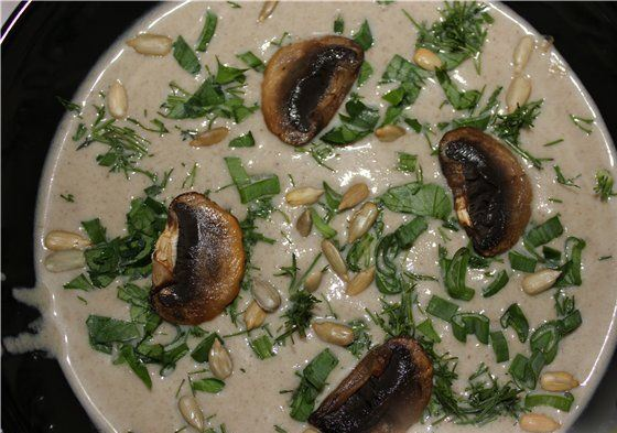 Грибной суп-пюре - фото шаг 6