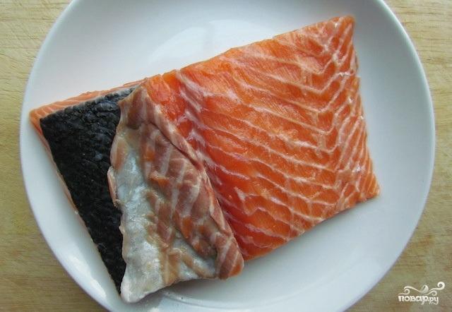 Филе лосося в духовке - фото шаг 2