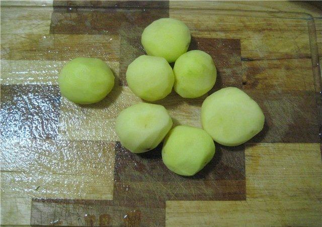 Картофель по-деревенски во фритюрнице - фото шаг 1