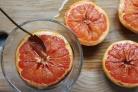 Десерт из грейпфрута