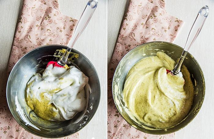 Клубнично-фисташковый торт - фото шаг 3