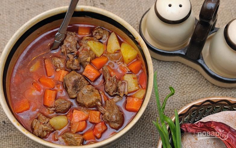 Картошка с тушенкой  пошаговый рецепт с фото на Поварру