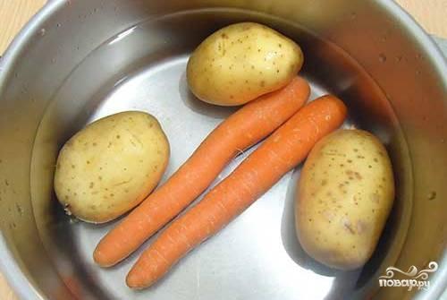 Рецепт Винегрет со свежей капустой