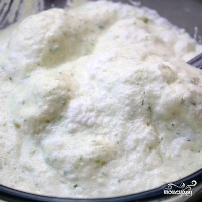 Творожное суфле с зеленой фасолью - фото шаг 6