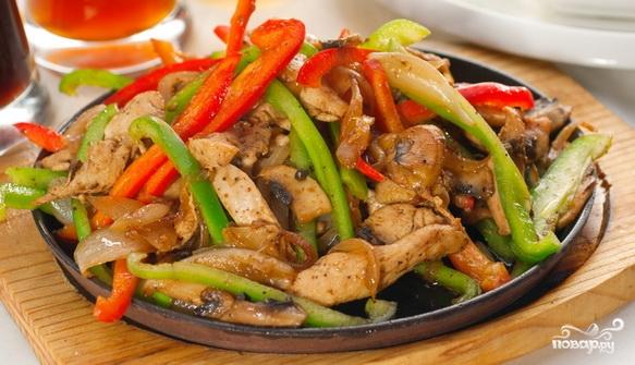 рецепт фрикасе из курицы с фото