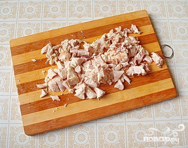 Салат с маринованным корнем сельдерея - фото шаг 1