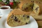 Смородиновый пирог на кефире