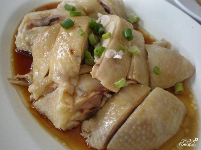Рецепт Курица в фольге на пару