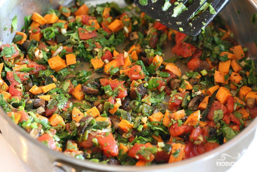 Вегетарианское тамале - фото шаг 4