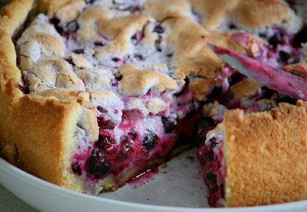 Швабский пирог со смородиной - фото шаг 8