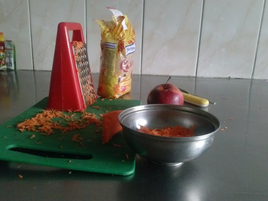 Витаминный салат - фото шаг 2