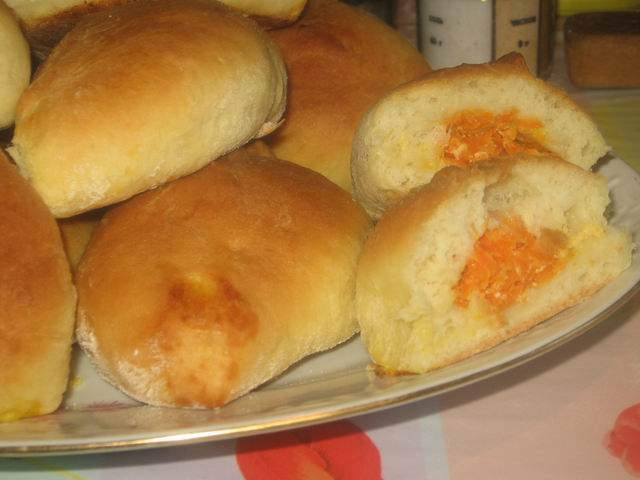 Пирожки с морковью - фото шаг 18