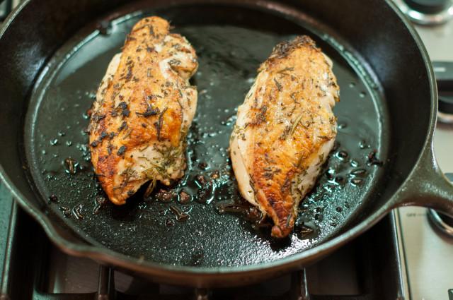 Жареная курица - фото шаг 3
