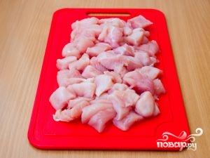 Рецепт Шашлык из филе курицы