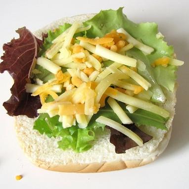 Вегетарианский бургер - фото шаг 7