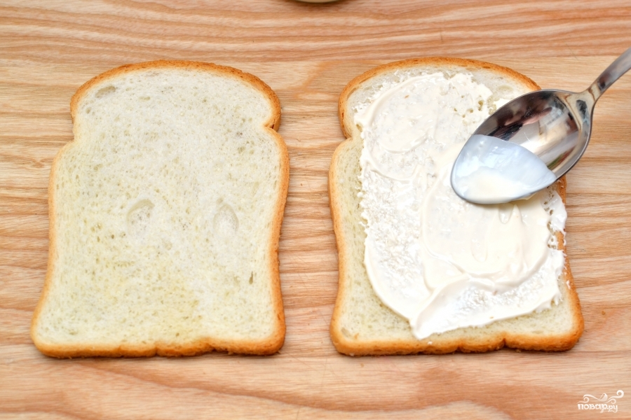 Сэндвич с ветчиной - фото шаг 1