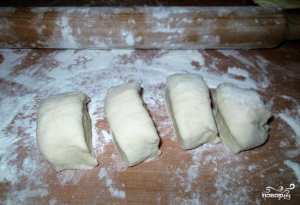 Пирожки с сайрой - фото шаг 8