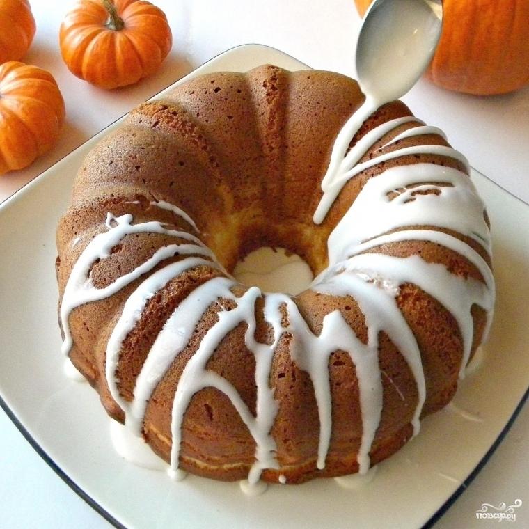 Торт из тыквы - фото шаг 9