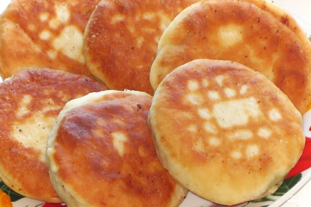 Рецепт Пирожки с опятами