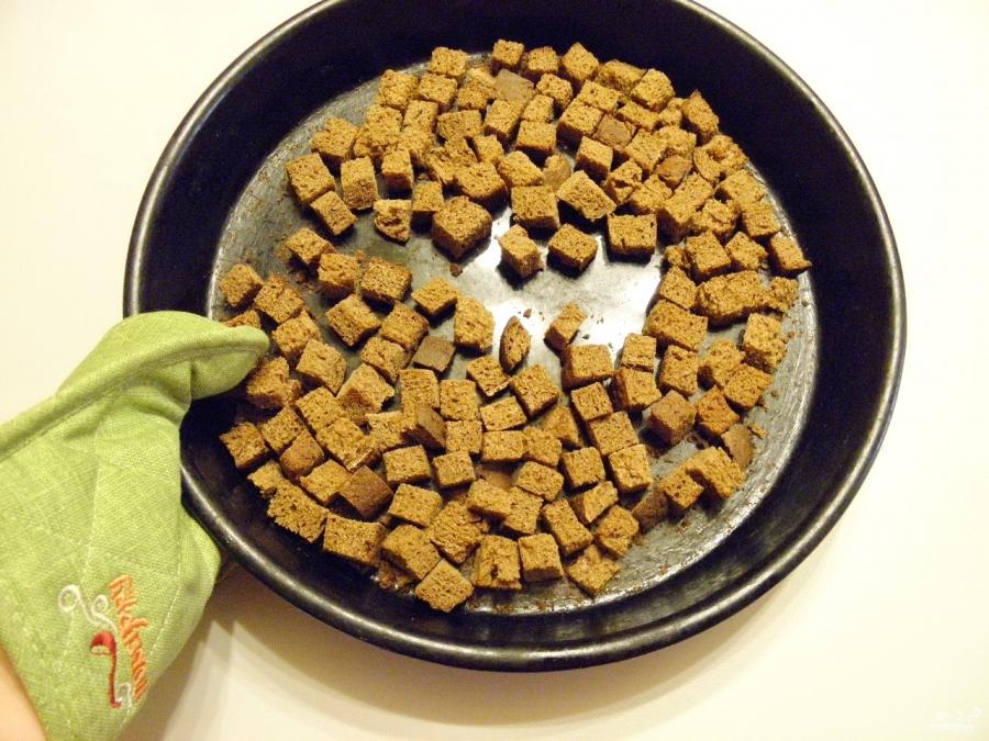Домашний квас из черного хлеба без дрожжей - фото шаг 5