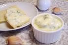 Домашний майонез на курином яйце с чесноком и зеленью