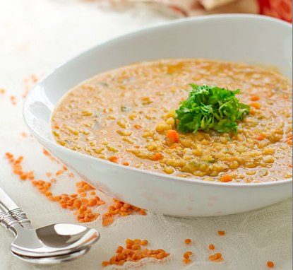 Густой суп из чечевицы - фото шаг 5