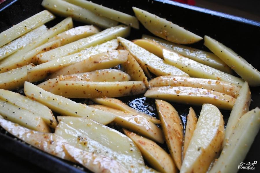 Картофель запеченный в пиве - фото шаг 5