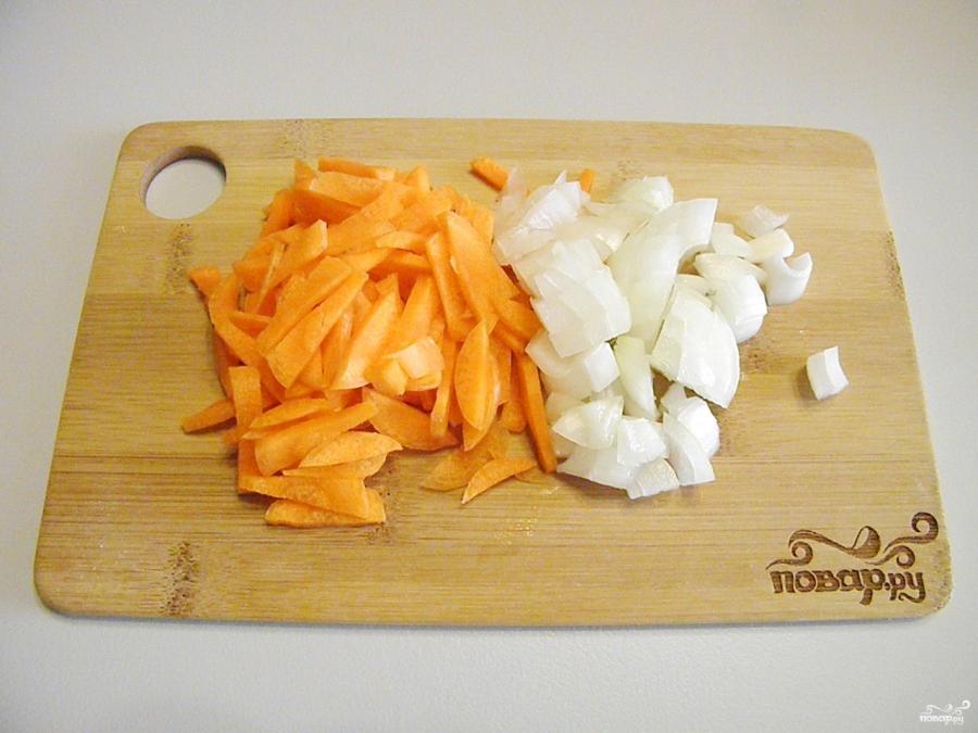 Борщ вегетарианский с грибами - фото шаг 2