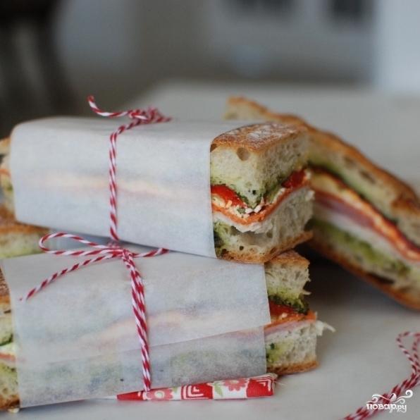 Сэндвич-кирпич - фото шаг 14