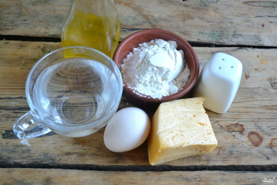 Чебуреки с сыром - фото шаг 1