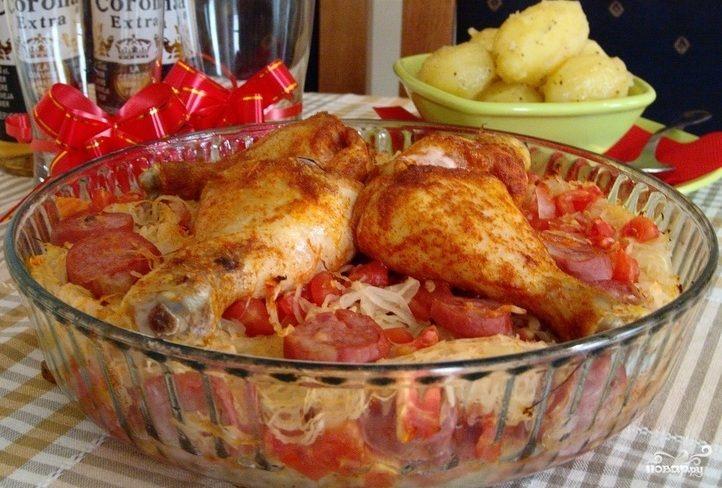 Курица по-польски