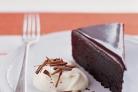 Глазированный шоколадный пирог