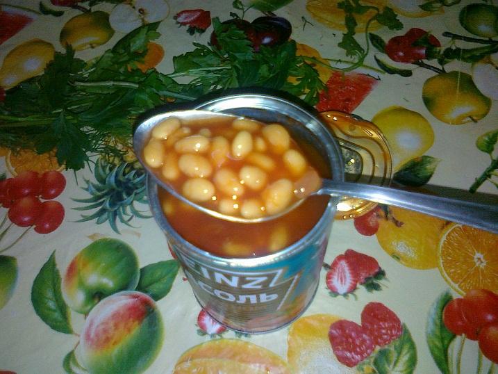 Вегетарианский суп с фасолью - фото шаг 4