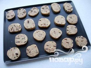 Миндальное печенье с шоколадом - фото шаг 4