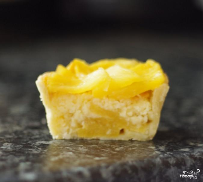 Тарталетки с ананасом - фото шаг 7