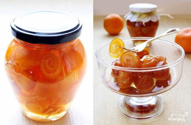 Рецепт Варенье из апельсиновых корок