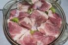 Быстрый маринад для свинины из киви