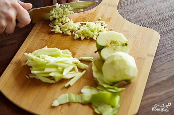 Яблочный чатни - фото шаг 1