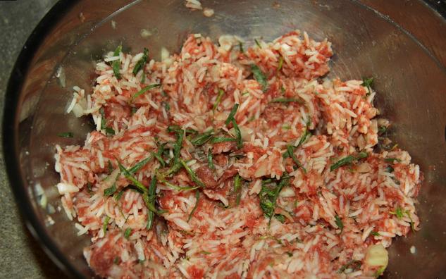 Рецепт Кабачки с фаршем и сыром