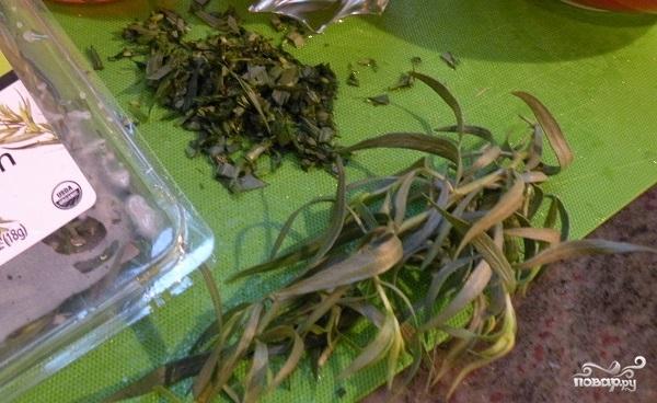 Салат с бобами и ветчиной - фото шаг 4