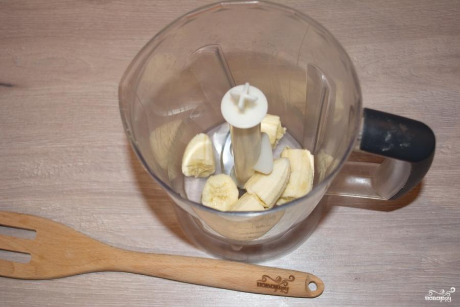 Коктейль из киви и банана - фото шаг 1