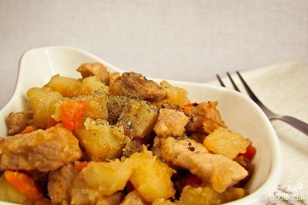 Рецепт Жаркое из говядины с картофелем